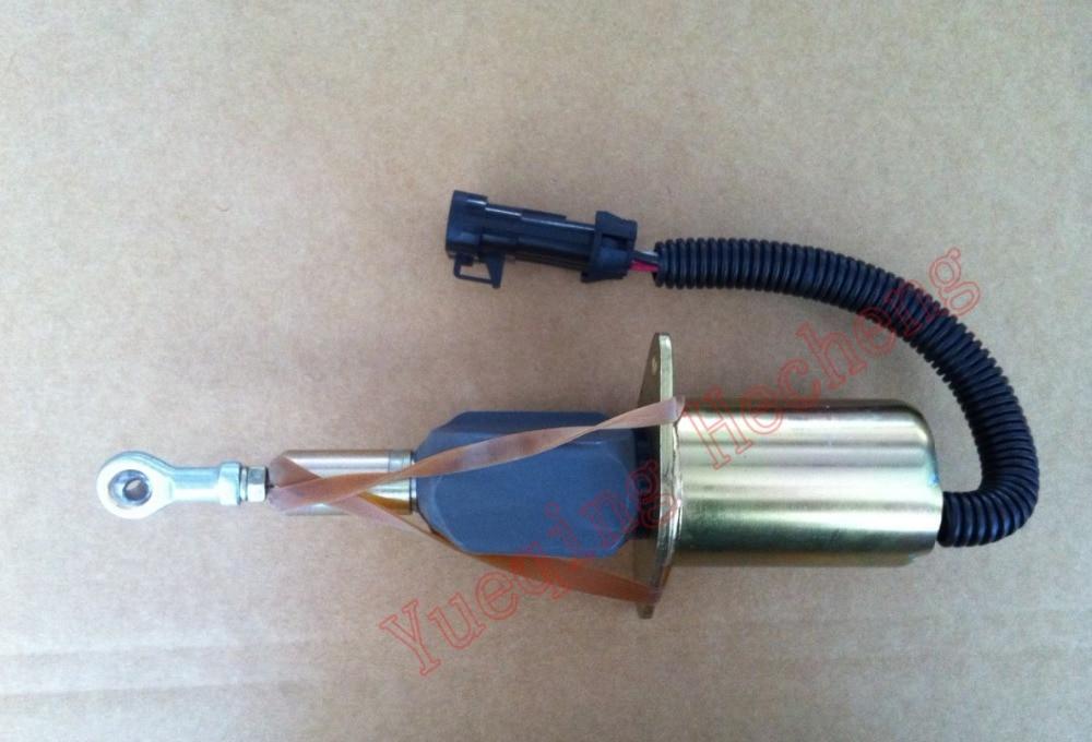 Shutdown Solenoid Valve 3964621 SA-5006-12 12V fuel shutdown solenoid valve sa 3765 sa 3765 12 12v for bosch rsv 1751 solenoid left mounted