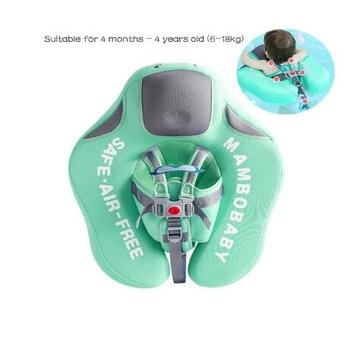 Swim trainer baby safety solid float upf 50+ uv sun protection canopy non-inflatable swim ring lying swimming pool bathtub toys
