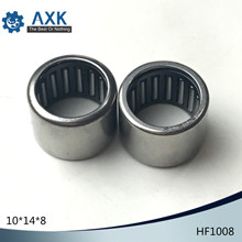 HF1008 Bearing 10*14*8 mm ( 10 PCS ) Drawn Cup Needle Roller Clutch HF101408 Needle Bearing цена
