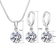 Charming Necklace/Earrings Jewelry Sets
