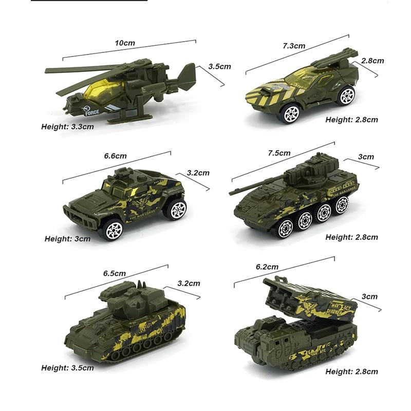 6Pcs-Assorted-Army-Toy-Cars-Alloy-car-Hot-Wheels-Diecast-Model-Cars-Mini-Alloy-Military-Battle
