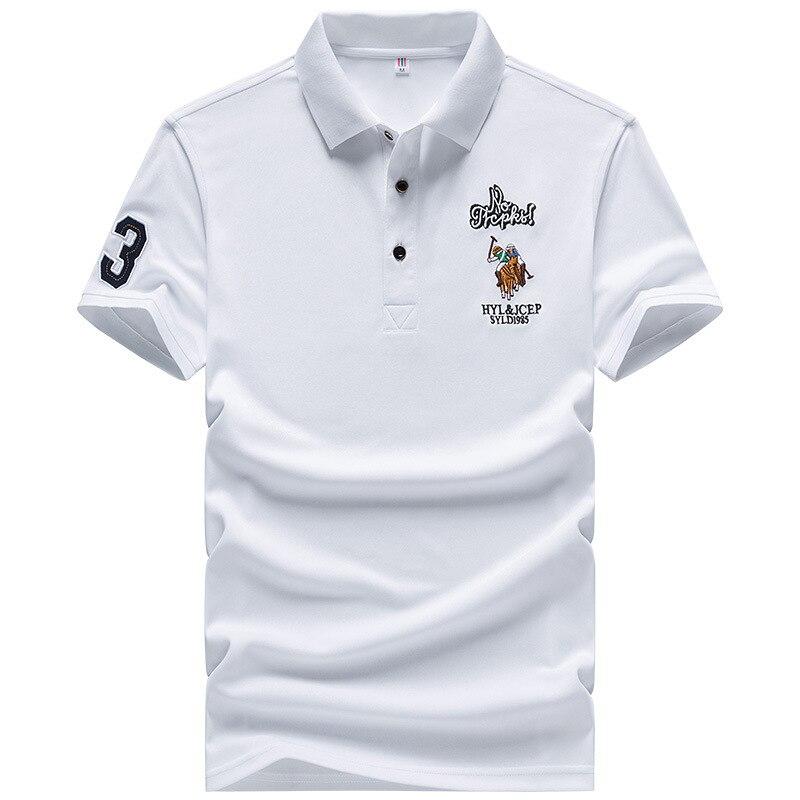 Eden Park Men's   Polo   Shirt Brand 1983 Golf Embroidery   Polos   Cool Short Sleeve Shirts European Size M-4XL;YA277