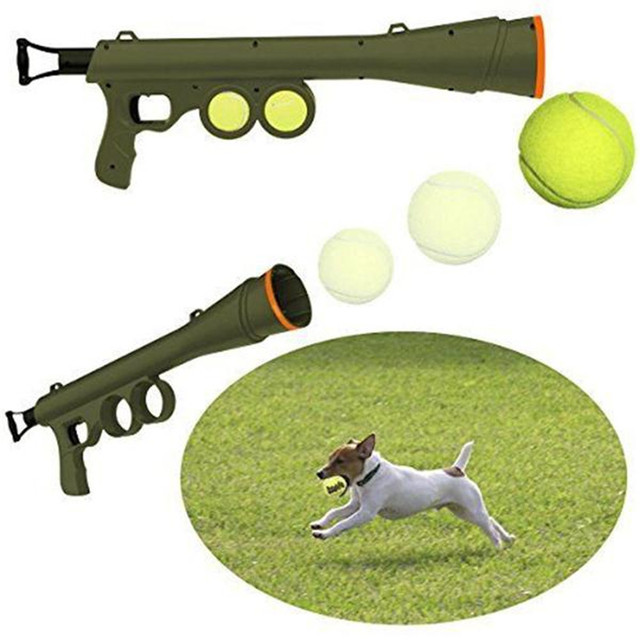 ball thrower. pet dog toy tennis ball launcher thrower products outdoor training interactive mascotas cachorro chien perros honden r