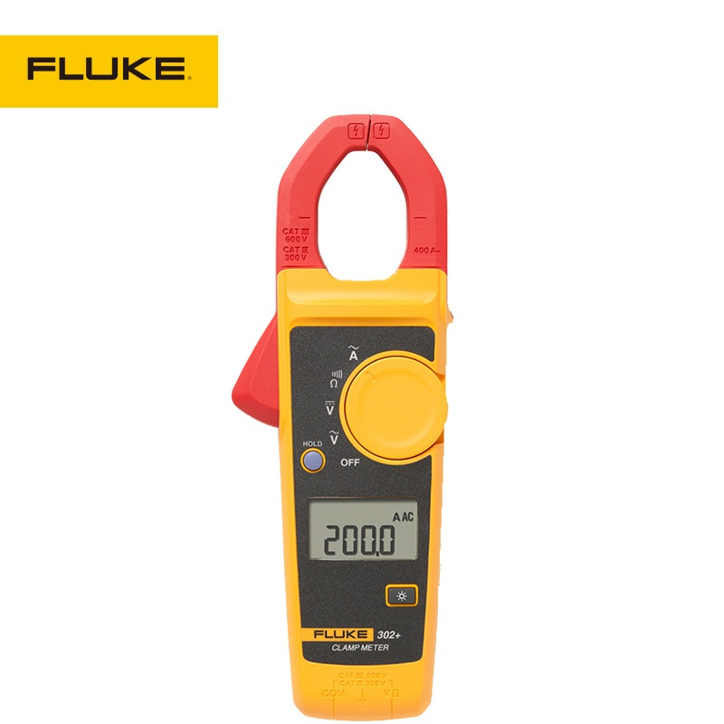 Fluke 302+ Digital Clamp Meter AC/DC Multimeter Tester Fast Shipping