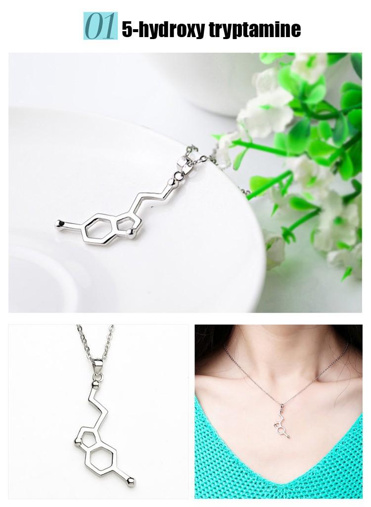 HTB1tLyYGFXXXXaLaXXXq6xXFXXXt - Molecular necklace chemical formula geek necklace science students PTC 298