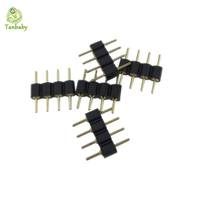 Tanbaby 10pcs lot 4 pin rgb connector adapter pin needle male type double 4pin for rgb.jpg 200x200