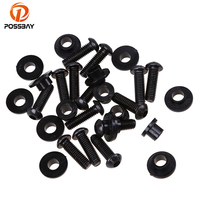 POSSBAY Motorcycle Body Fairing Screw Bolt Kit for Suzuki GSXR1000 K2 2000 2002 K3 2003 2004 K5 2005 2006 Scooter Body Screws