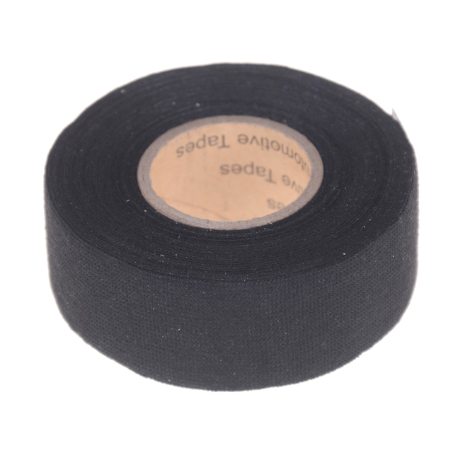 1roll black adhesive tape cable looms fabric cloth tape automotive rh aliexpress com