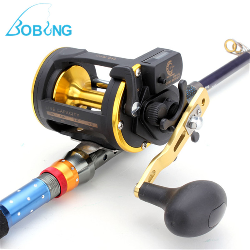 05L 6.0:1 Sea Fishing Reels Precise Copper Gear with Counter Lure Bait Casting Winding Coil Summer Fishing Tackle Accessories chongqing quality 100% copper winding rotor
