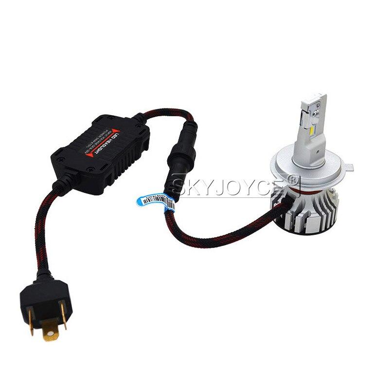 1 Set Car LED Headlight Kit F2 H4 H7 H1 H11 HB3 9005 HB4 9006 LED Bulb 72W 12000LM CSP Chips Turbo Fan 6500K Auto Headlamp Bulbs (11)