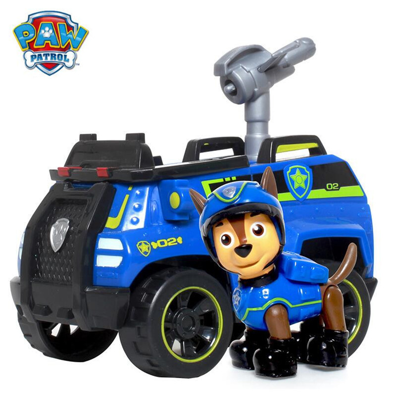 Paw patrol Puppy Patrol Dog Chase Anime Toys Figurine Car Toy Action Figure model patrulla canina toys Children Gifts Щенячий патруль