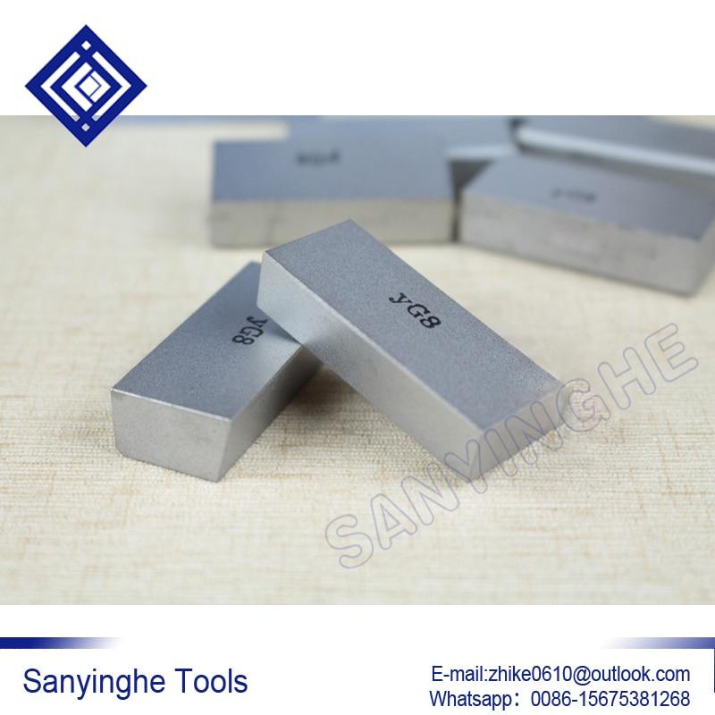 free shipping high quality 20pcs lots A125 YG6 YG8 YW1 YW2 YT5 YT14 YT15 carbide welding