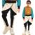Adultos niños niños remache faux pantalón de cuero con paneles lápiz pantalones delgados patchwork blanco negro harem hip hop danza pantalones