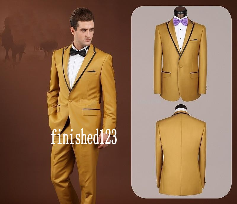 Online Get Cheap Yellow Prom Tuxedo -Aliexpress.com | Alibaba Group
