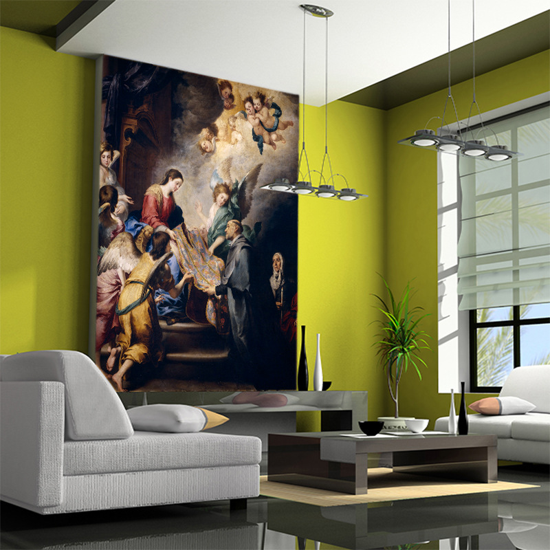 European and American sexy beauty background wall paper wallpaper bathroom bar seamless 3D mural body art poster wall painting in Wallpapers from Home Improvement