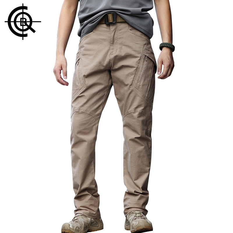 CQB IX9 Training Pants Men Climbing Hiking Pants Cotton Outdoor Pants Wear-resisting Big Size Overalls CKZ0113