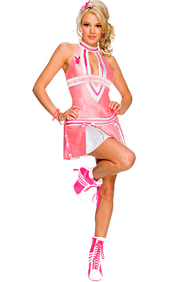 Cheerleader Dress - New Sexy Backless Halter Cheerleader Costume For Women Cheerleading Uniform Fancy Pink Cheer Outfit
