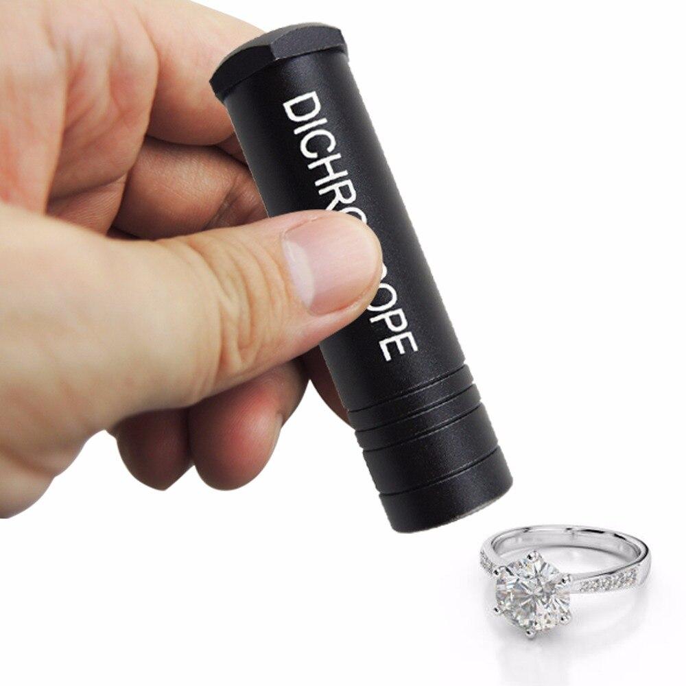 Portable Robuste Calcite Dichroscope Trichoic Pierres Précieuses et Pierres Précieuses Gemmologiques Test Outil Bijoutier Bijoux En Métal De 15mm