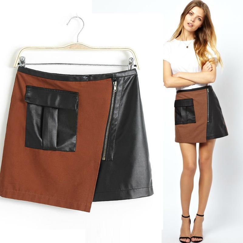 Compare Prices on Designer Leather Skirts- Online Shopping/Buy Low ...