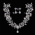 Nueva Heapieces y Aretes de Perlas de lujo Joyería Nupcial Conjuntos de Joyería de Las Mujeres Accesorios Pelo de La Boda de La Vendimia