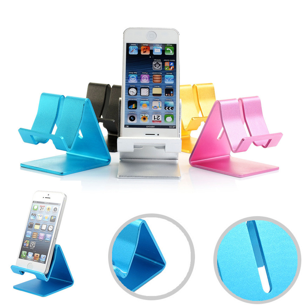 Hot selling Universal Cell Phone Desk Stand Holder For Tablet ipad iPhone For SamsungHuawei tablet holder free shipping the best