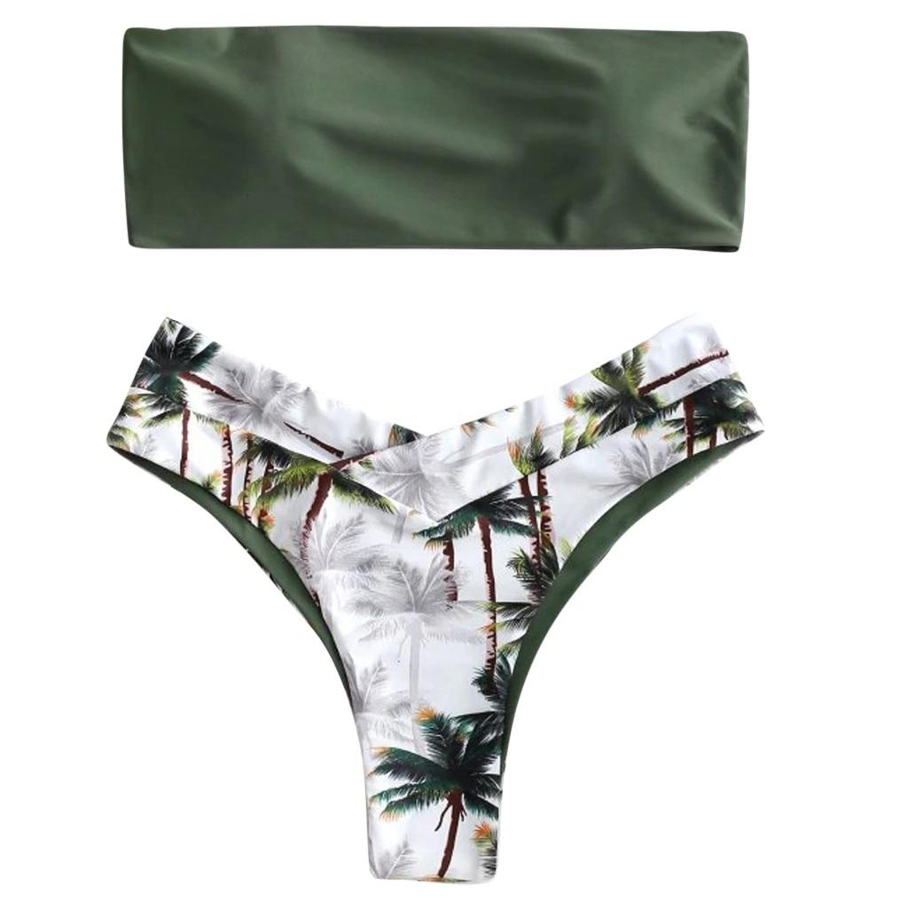 HTB1tM2Aa.jrK1RkHFNRq6ySvpXaB Sexy Women Bikini Set Coconut Print Padded Swimwear Mini Bathing Suit Summer Beach Swimsuit Beachwear for Women Bikini 2019