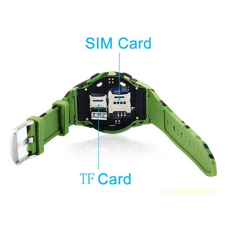 2016 hoge kwaliteit ourdoor waterdichte pc case man vrouw smartwatch horloge ondersteuning FM Radio sim kaart camera voor ios android - 4
