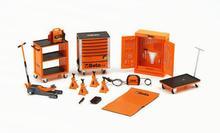 1:18 repair kit repair room scene scenes repair tools dedicated repair parts Cars