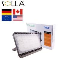 (Schiff Aus US) SOLLA LED Flutlicht Mit Kabel Und Stecker 30 Watt 50 Watt  70 Watt 100 Watt AC100 220V Outdoor Garten Lampe Wasserdichte Ultradün.