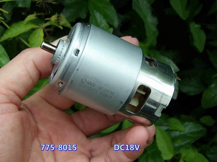 MABUCHI RS-775VC-8015 DC 12 v-18 v 18200 rpm Forage & Tournevis/Jardin Outils Moteur