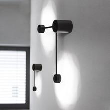 Современный минималистский черный цвет внутренний настенный светильник Nordic Творческий использование в рукоделии Большая Медведица коридор декоративный предмет со светодиодной подсветкой