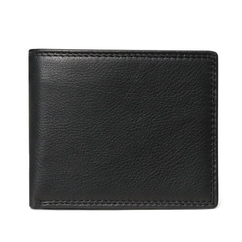 black embossed men wallet