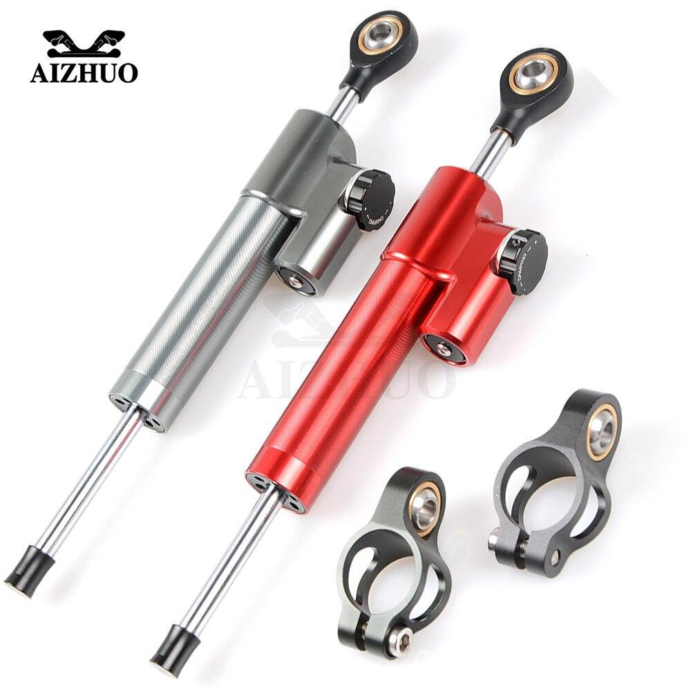 Universal Motorcycle Damper Steering Stabilize Safety Control For Honda CBR 600 F2 F3 F4 F4i CB919 CBR954RR CBR600RR CBR900RR аксессуар катушка marsmd goliaf для f2 f4