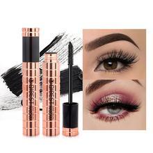 1PC Black Waterproof Fiber Mascara Long Curling Makeup Eyelash Mascara Eye Lashes Make up 4D Silk Fiber Lash Mascara
