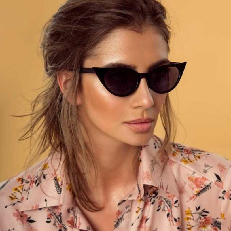 7c09f2a2a039 Popular Cycling Eyewear Women Man Vintage Cat Eye Irregular Shape Sunglasses  Eyewear Retro Popular Unisex Sunglasses