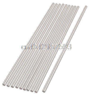 10 Pieces High Speed Steel HSS Round Turning Lathe Carbide Bars Rod 5mmx200mm 2mmx100mm hss graving tool round turning lathe carbide bars stick 20pcs