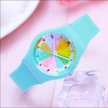 2018 Мода кварцевые часы Уиллис Водонепроницаемый силиконовые часы для мини 10 м Водонепроницаемость детей женщин студент аналоговые наручные часы