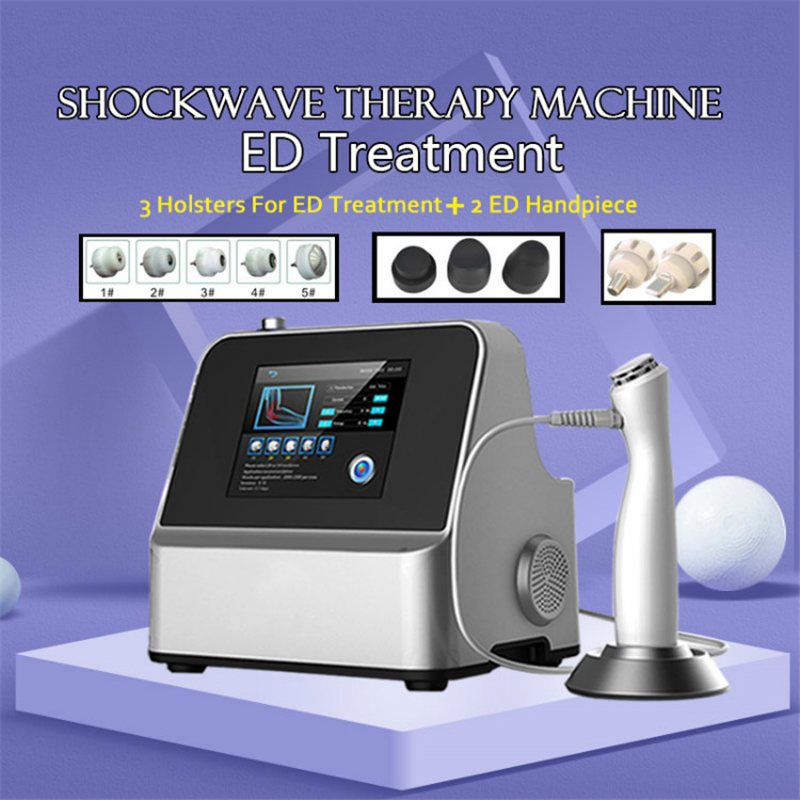 To Treat ED Portable Shock Wave Physiotherapy Equipment Wave Therapy Shockwave Pain Relief