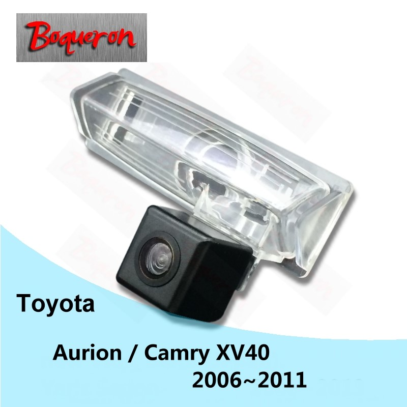 BOQUERON For Toyota Aurion / Camry XV40 2006~2011 Car Rear View Camera HD CCD Night Vision Backup Reverse Parking Camera