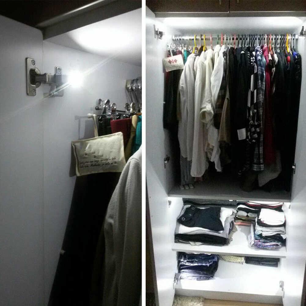 1/10 шт. петля для ЖК-дисплея свет Смарт Сенсор кухонный шкафчик, сервант лампа для платяного шкафа
