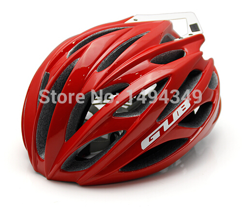 ФОТО GUB SV8 pro mountain road bike riding integrally molded plastic wing ultralight helmet male and female models