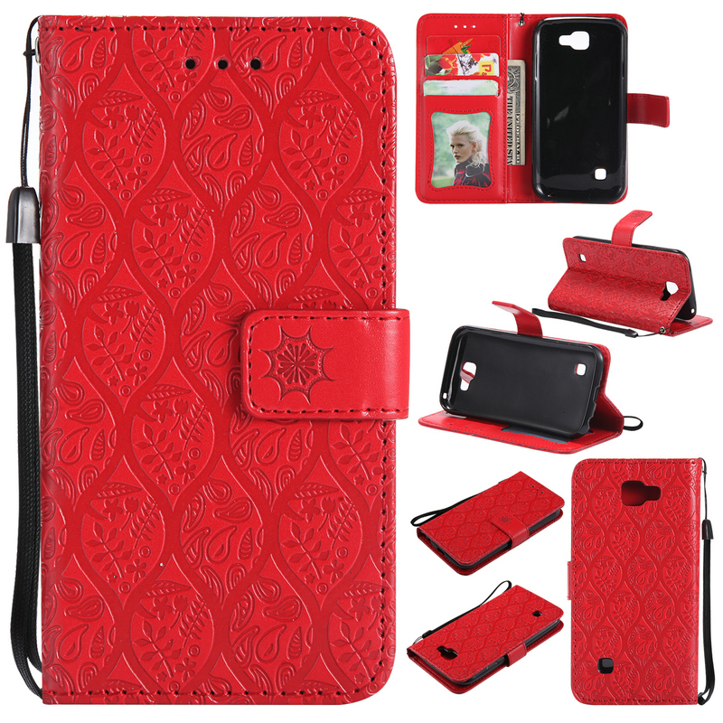 Wallet Purse Case for LG K3 Cover Luxury PU Leather Silicon Back cover for LG K3 2017 Shockproof case Card Slot Photo Frame