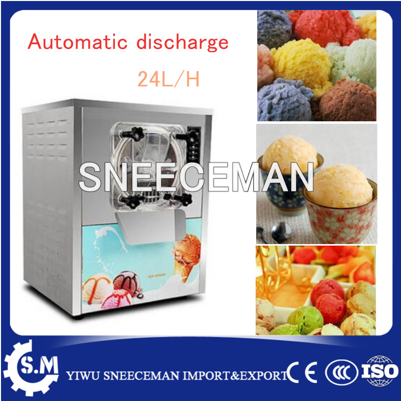 20L/H Top quality hard ice cream machine table top small batch freezer for shop edtid new high quality small commercial ice machine household ice machine tea milk shop