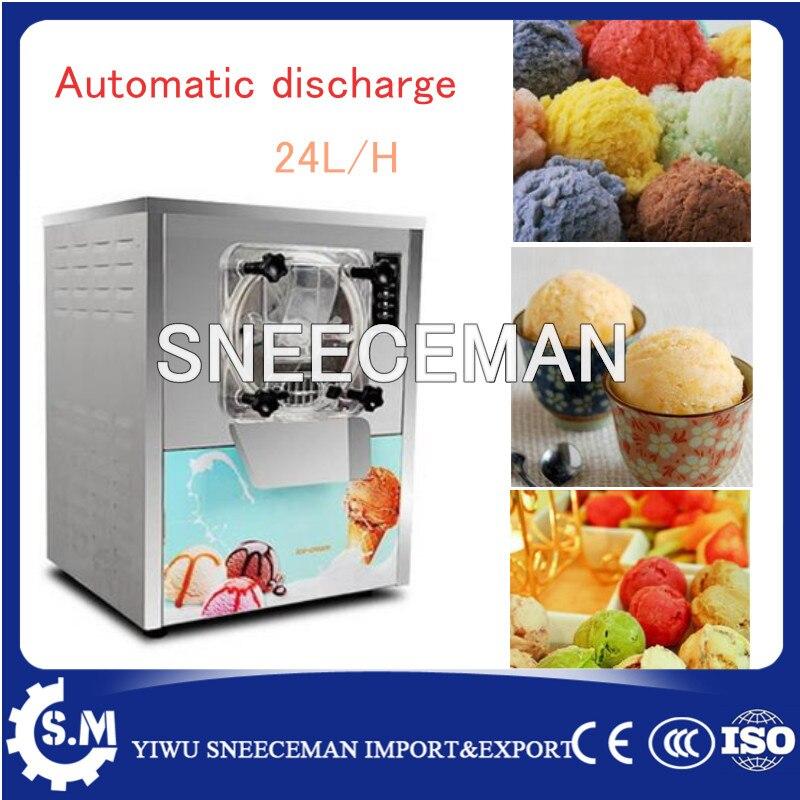 20L/H Top qualité dur machine à crème glacée table top petit lot congélateur pour boutique