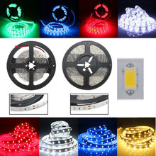 цена на 5M SMD 5630 60LEDS/M  Flexible LED Strip Home Decoration Counter Light Waterproof DC 12V
