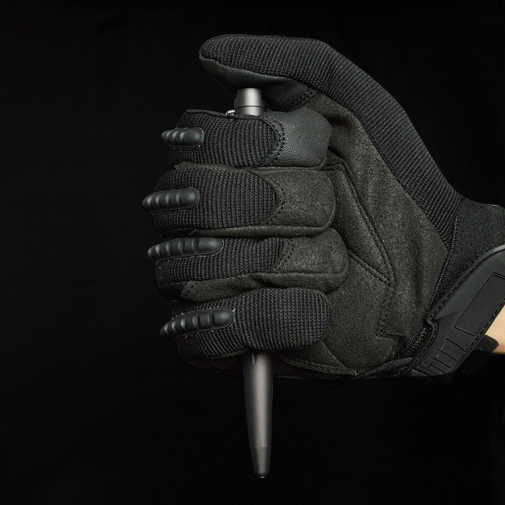 Image 3 - Tenvellon Self Defense Supplies Tactical Pen Security protection personal defense tool Gray Black Color Tactical Pens Safety EDC-in Self Defense Supplies from Security & Protection