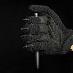 Image 3 - Tenvellon suprimentos de auto defesa caneta tático proteção segurança pessoal ferramenta defesa cinza cor preta canetas táticas segurança edc