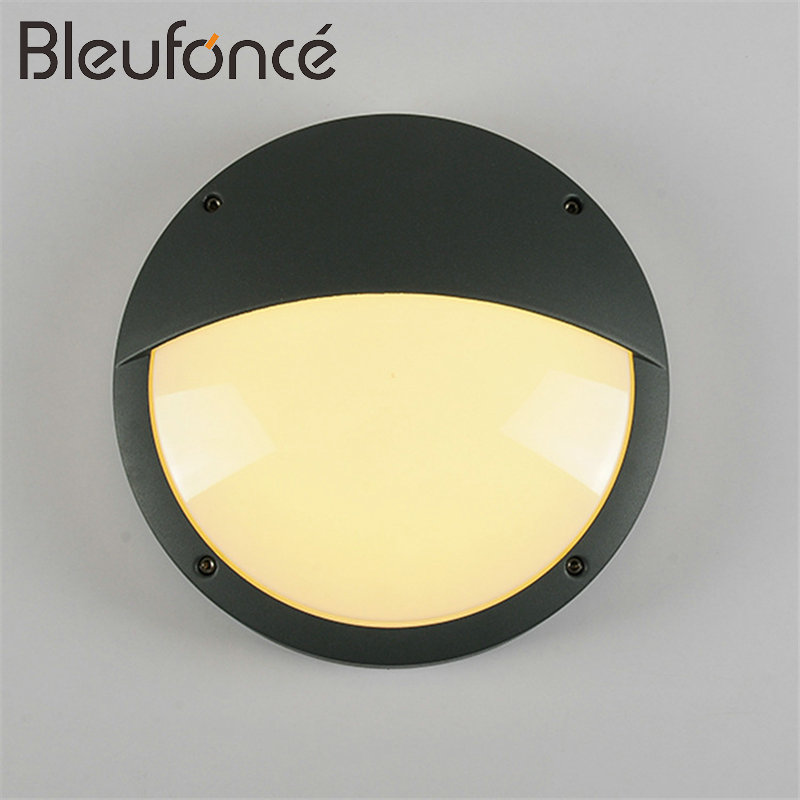Porch Light LED Wall Lamp 12W Outdoor Waterproof Aluminum wall lamp Mounted Courtyard Led wall lights for Garden Sconce BL77 led outdoor wall sconce wall mounted lamp garden porch light bedside lamp balcony sconce aisle light vintage wall sconces