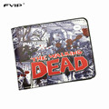 FVIP The AMC Movie The Walking Dead Short Wallets With Card Holder Photo Holder Men And Women Cool Purse