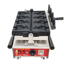 2018 New ice cream taiyaki machine fish waffle mini ice cream taiyaki open mouth fish waffle maker machine 1 piece fish taiyaki fish waffle maker machine baker